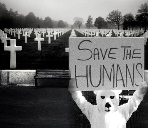 Save the Humans (by Arts in Miami)