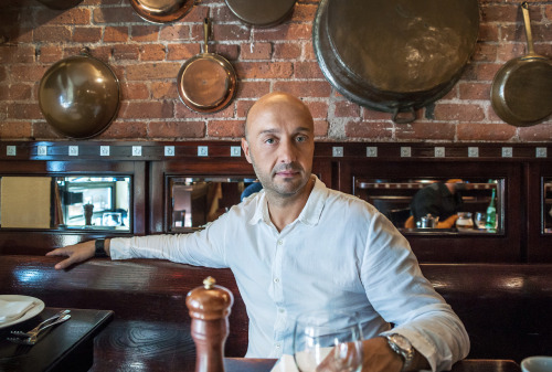Spending some TV time with Joe Bastianich + Grub Street NY!