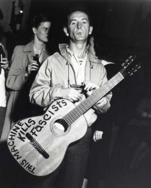 'this machine kills fascists' brutal