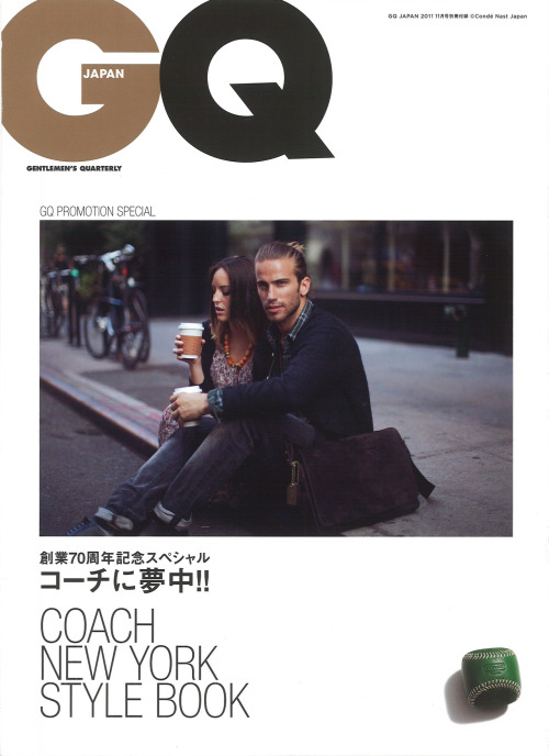 alvarocdc:  Alvaro Colom for GQ Japan Coach style book Photo by Gordon Von Steiner