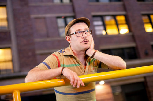 "I love this man. earwolf:  ""Could James Adomian become the first man to break through as an openly gay stand-up star?"" Check out this story featuring James Adomian in today's New York Times! Then head on over to the Earwolf store to pick up his new album!"
