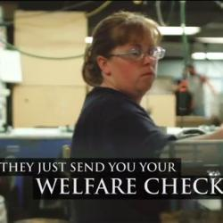 "Mitt Romney's specious welfare attack  It so happens that when Mitt Romney came to Ohio yesterday that I was able to catch one of his appearances, speaking to hundreds of coal miners in Beallsville. As expected, Romney hit President Obama for his ""war on coal"" (never mind that Romney in 2003 stood outside a coal-fired plan in Salem, Mass. and said that it ""kills people."") But he got his biggest applause during this riff:  Alec MacGillis — ""The Welfare Card And The Post-Truth Campaign"""