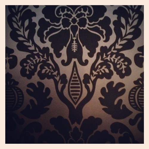 Cosy Club #stamford #wallpaper #vintage #shabbychic  (Taken with Instagram)