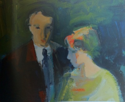 startfromwhereyouare:  Elmer Bischoff, Couple, 1960, oil on canvas