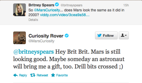 Reason #4,933 why I love Britney (or at least whoever does her tweeting).