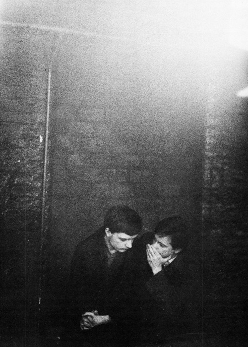 Ian Curtis and Bernard Summer of Joy Division