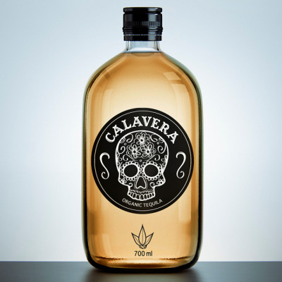 Calavera Organic Tequila We're super impressed by this packing design project by Sasha Ermolenko, a student at British Higher School of Design in Moscow.