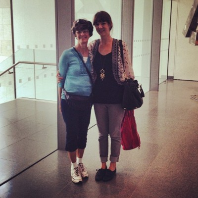 Mama and me @MFA. (Taken with Instagram at Museum of Fine Arts)