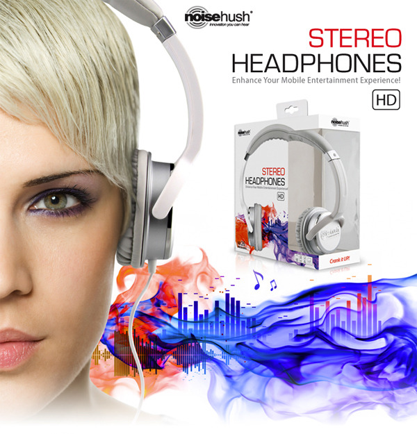 HEAR US NOW, BELIEVE US LATER!  The NoiseHush NX26 3.5mm HD Stereo Headphones really lives up to its name,  don't call us, just go grab a pair and see.  For Placement contact: THE PRADUC STAFF