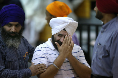 "thepeoplesrecord:  Son of murdered Sikh Temple president asks why Obama & Romney have not visited victimsAugust 15, 2012  Last weekend, Michelle Obama made a surprise visit to a hospital in Aurora, Colorado to meet with victims of last month's movie theater shooting there. Her husband, President Barack Obama, also met with those affected by the horrific shooting just two days after it occurred. However, neither the president or the First Lady has visited Oak Creek, Wisconsin where six people were killed at a Sikh Temple sixteen days after the incident in Aurora. Amardeep Kaleka, whose father was killed at Oak Creek, said he finds it ""strange"" his community hasn't received more support from President Obama and Mitt Romney. ""Why wouldn't they, at some point, make a stand. Make a stand for everybody out there who's ever been robbed, or gunned down or has faced this hatred,"" Mr. Kaleka said. Mr. Kaleka's father, Satwant Singh Kaleka, was president of the Sikh Temple of Wisconsin. According to Mr. Kaleka, his father was shot eight times and lost all of his fingernails while wrestling with the gunman. Mr. Kaleka said he and other family members of the victims haven't received any communication from President Obama beyond a single call to a ""random"" member of the congregation. ""We communicated with the White House very briefly, mostly the Department of Justice, and that's about it. There was a phone call made with Barack on the first day, on Sunday, to just a random congregation member,"" said Mr. Kaleka. ""Somehow, some way he got somebody's number and he called a congregation member. He's never called the victim's families, not even the board that my father led before he died."" In a White House press briefing two days after the shooting in Oak Creek White House Press Secretary Jay Carney was asked whether flags were at half mast to commemorate those who were killed and whether the president would be meeting with the victims. ""I have no calls or scheduling announcements, or schedule changes to announce to you at this time.  But the answer is yes with regards to the flags being lowered,"" Mr. Carney said. Mr. Kaleka believes there's two main reasons why the Sikh community in Oak Creek hasn't gotten the same kind of support from the president that the people of Aurora received–the tense political climate in Wisconsin and the fact Sikhs are a religious minority. ""First and foremost, I think it's politics,"" said Mr. Kaleka. ""Wisconsin is an obviously pivotal state in most of these situations, especially presidential elections because we could swing either way. We have a big gun control issue here…and then we have the labor problem with…so, we have a lot of politics at play in our state and I wonder if that makes people want to stay away from speaking about this, or visiting us, or showing support."" He also said many at the Sikh Temple of Wisconsin believe their status as a largely immigrant community and minority religion has kept politicians away. ""This is the way our community feels, and it's sad, if this was a Christian church and it was a Sikh shooter, I'm pretty sure we'd have a different response if the same exact situation happened,"" Mr. Kaleka said. ""That's pretty sad, because we'd have undeniable recourse and actions from the government, or at least a show of support. Here we barely have any support from the federal government or even the local government."" Mr. Kaleka said he knows standing up for non-Christian minorities can have a ""backlash,"" but he thinks Sikhs' status as a minority community makes it more important for President Obama to make a strong, visible show of support in Oak Creek. ""I think a personal visit is absolutely necessary. All politics aside, a personal visit, even with the victims' families, the temple, the people, for him to take pictures with people who have turbans and beards on does so much for our safety,"" said Mr. Kaleka. ""Separation is what fuels this hate, or what fuels the violence against other people."" As of this writing, the White House and the Obama campaign have not responded to a request for comment on this story. However, President Obama isn't the only one who Mr. Kaleka would like to see visit Oak Park. ""I think it would be obviously beneficial if political parties, no matter which they are, even if Mitt Romney comes, it would help us unify,"" Mr. Kaleka said. ""At some point we have to unify on one ground against hatred and tyranny."" Mr. Kaleka cited Wisconsin's Republican governor, Scott Walker, as a politician who came to the homes of victims' families and attended events responding to the Oak Creek shooting. Mr. Romney's newly-minted running mate, Congressman Paul Ryan, is from nearby Janesville, Wisconsin. Mr. Kaleka said Mr. Ryan attended ""multiple events"" after the shooting but hasn't met with the families of those who were killed. Both Mr. Ryan, who had not yet been named the vice presidential candidate, and Mr. Romney's son, Tagg Romney, went to Oak Creek on Friday to attend a group wake for the dead and visitation services at the temple. However, Mr. Kaleka said he'd still like a visit from Mr. Romney himself. In fact, he was incredulous when we informed him Mr. Romney and his running mate were campaigning near Mr. Ryan's hometown yesterday. ""That's amazing. Dude, we're not even like two hours away from that,"" Mr. Kaleka said. As of this writing, the Romney campaign has not responded to a request asking if Mr. Romney plans to visit Oak Creek. Source It's really no surprise that neither candidate has reached out to Sikh temple shooting victims or their families, while Aurora victims were visited two days after the shooting. The temple shooting happened 10 days ago with no visit from either candidate.  Color me shocked that Obama and Romney couldn't care less."