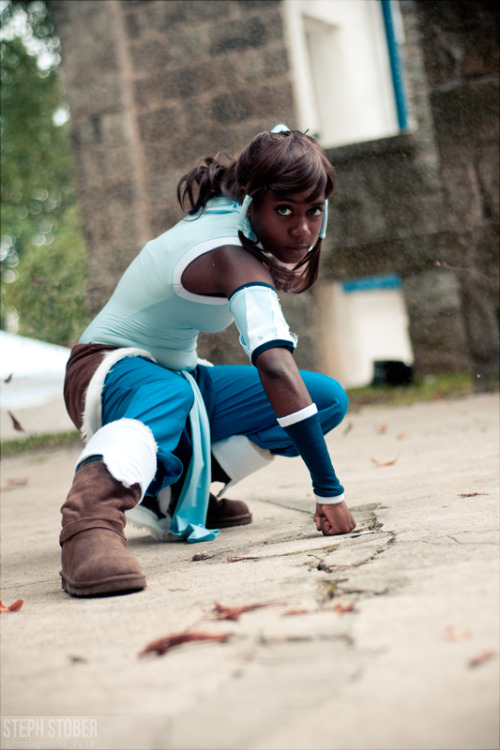 strawberreli:  cosplayingwhileblack:  X Character: Korra Series: The Legend of Korra  fuck me. i don't even watch LoK, but this is spot-on/perf