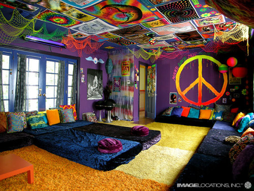 hippie chill-out room