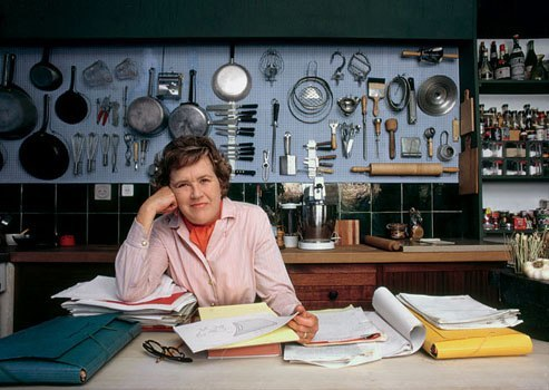 vanityfair:  Happy 100th Birthday, Julia Child! Bon appétit!
