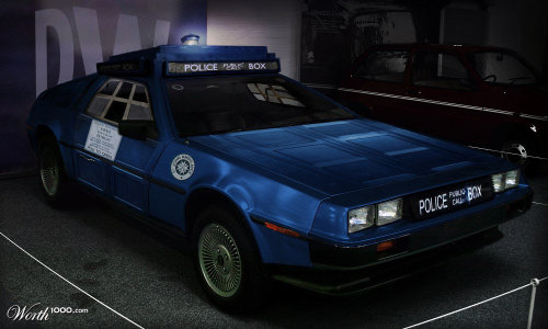 Time travel: the best of both worlds (but resist calling it the TARDLorean)