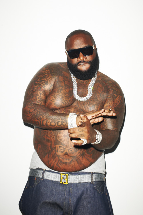 terrysdiary:  Rick Ross at my studio #7
