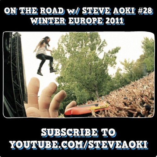 Jump into my latest #OnTheRoad #28 thru Europe end of 2011 w/ crazy cameos! (Taken with Instagram)
