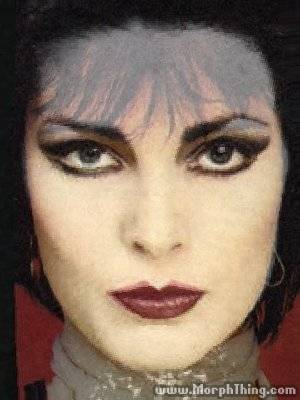 marypsue:  rikmayall:  i morphed patricia morrison and siouxsie sioux oh my god  LOOK UPON THE FACE OF THE ONE TRUE GODDESS AND TREMBLE, MORTAL  I feel like I should be building an altar with this as the centerpiece.