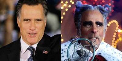 lascocks:  collegehumor:  Mitt Romney Looks Like Mayor of Whoville Mayor Maywho has better hair.  holy shiiiit