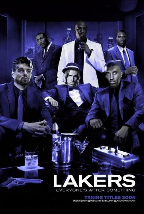 LA Lakers - Everyone's After Something. (Credit: robcontinental)