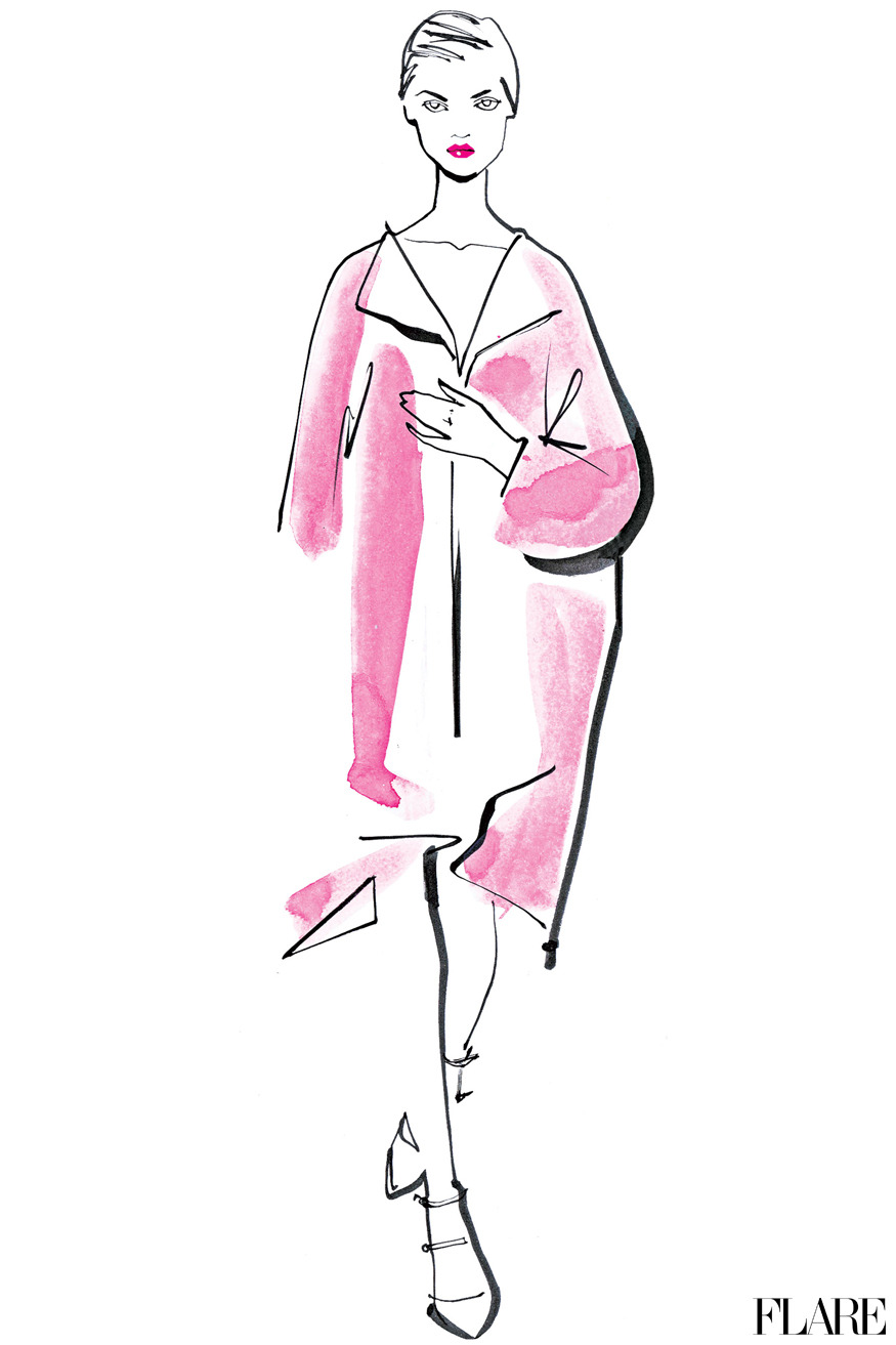 Jil Sander - September 2012 / Illustration by Jacqueline Bissett 30 Days of Fall: Everything you need to know about the new season in one place.
