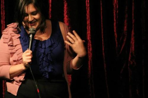 Jennifer Dronsky by Rachael Shapiro. via Hella Gay Comedy Show