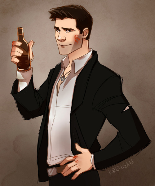 kreugan:  Commission of Nathan Drake from Uncharted!