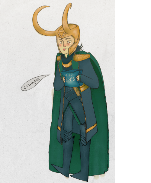 Not enough Loki on dis blog so here you goo