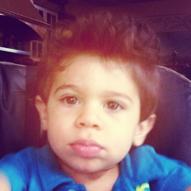 #baby #blowout #babyguido #hair  (Taken with Instagram)