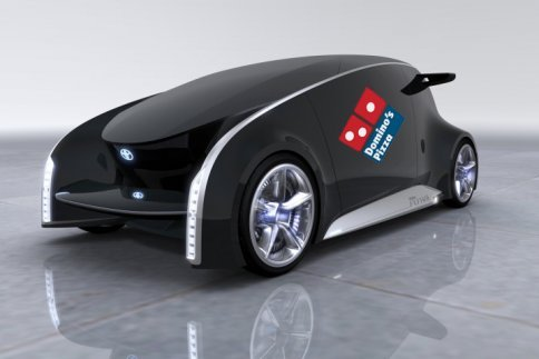Pizza Delivery Vehicle by Domino's Pizza