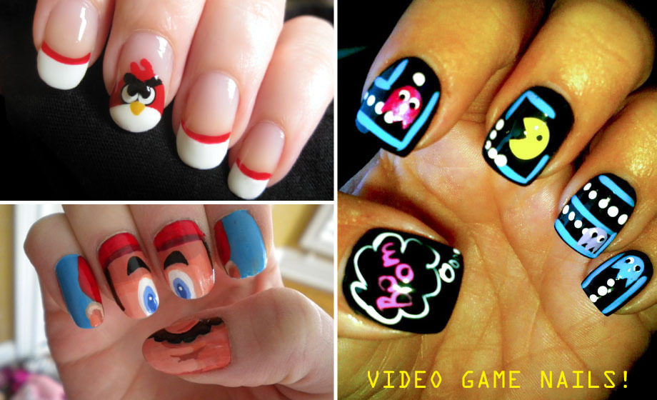 Video game nails!
