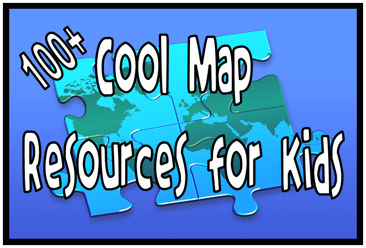 100+ Map Resources 4 Kids! Tons on new cool updates for this LiveBinder!!! #edtech #SSchat #maps Resources include: printables, interactive maps and tools, map makers, interactives, games, and other related resources. Lots to dig through!  Below are just a few of the resources you will find in my  Maps for Kids Livebinder. All FREE resources! Paises Very cool modern map resource for older students. Map Skip No need to create an account to view just to add content. (pretty cool) Step Map Create a personal map for free! Classroom Clip Art Fantastic resource for classroom use only. d-Maps printable maps My Wonderful World Printable Wall Maps! Digital Dialects Nice games. Owl and Mouse Outstanding resource for the classroom! Zoom into Maps  introduces historical maps from the American Memory collections. A Primary Source Analysis Tool for analysis and note taking has been provided.  Geo Greeting  uses a satellite view of buildings, structures and nature to spell out words and phrases. If you hold your mouse over a letter it will tell you where the image comes from and you also have the option of seeing it on a map. Google Maps Street View AMAZING! Hope you find some cool resources to use in your classroom.