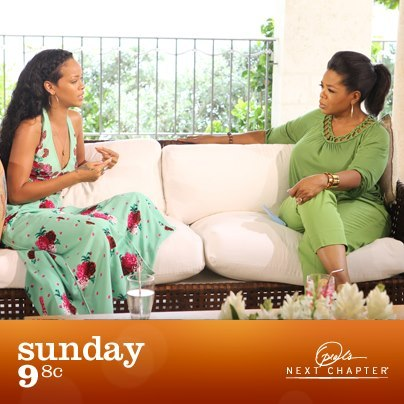 Excited for Oprah & Rihanna conversation this Sunday