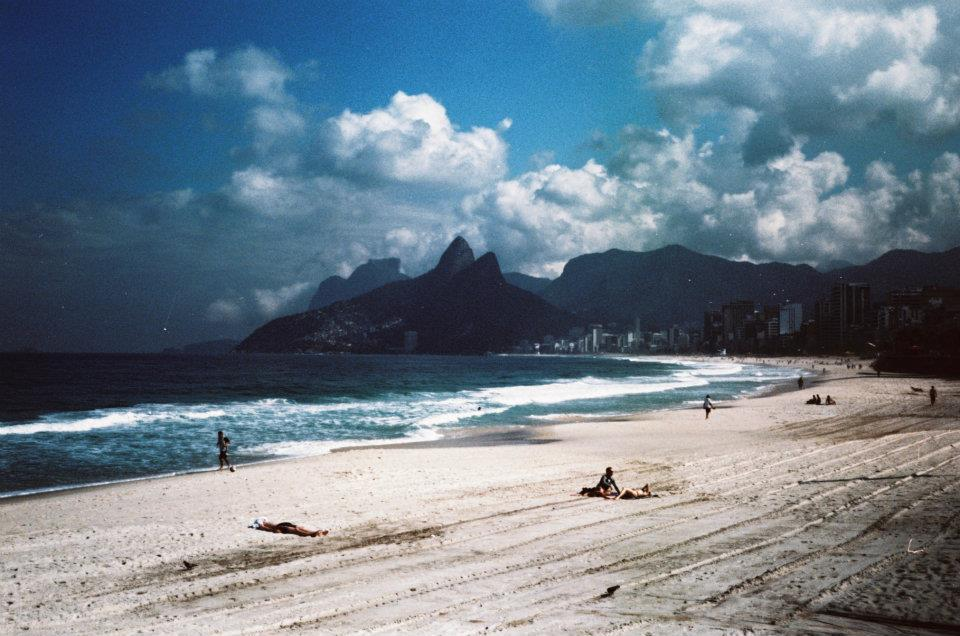 istillshootfilm:  Film Photography Submission By: analogicallove   Ipanema, Rio de Janeiro - Brasil. Olympus Trip / Lomo Chrome ISO 100 cross processed