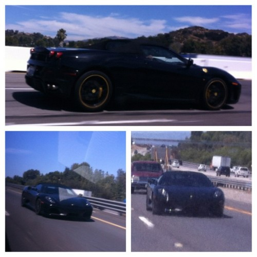 Saw this baby on the road oooo yes Italian cars #FTW #picstitch #nofilter  (Taken with Instagram)