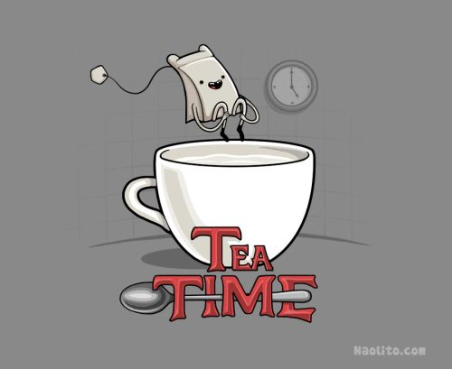 martinekenblog:  Tea Time by ~Naolito