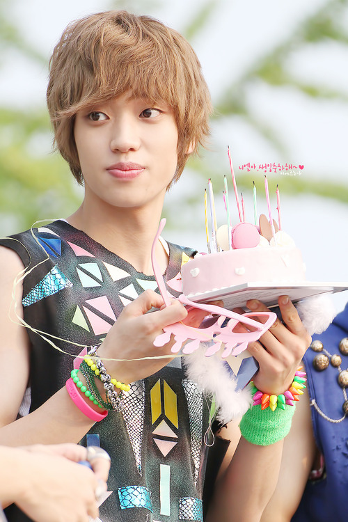 Happy Birthday to my smiling Angel, Ahn Daniel ♥ Wow…It's been 1 year and 8 months already. I remember the first time i saw you in your Supa Luv Dance MV, i thought you were really intimidating and really scary to be honest lol, but for some reason i couldn't get you out of my head. Although i didn't know you too well at the time, i had already decided that you would be my bias. I ended up trying to learn everything about you. Everyday, after school, i would watch music videos, Making of the Artist, Teen Top on Airs, fancams…anything that could make me feel a little bit closer to you even though you're so far away~ I learned so much about you. Your obsession with Nam Sangmi…The habit you always have of putting your fist over your mouth when you laugh….Your natural aegyo that shows in every action you do…Your insecurity about your appearance and lips…your outgoing and sweet personality…i could go on forever …Seeing you grow up, i notice how much more mature you've become. You were so young when Teen Top started (actually you were the same age i am now), yet you had to carry the same amount of responsibility and stress as idols years older than you. To add to it, people would criticize you…calling you ugly or for having too many lines. Every time i read something like that, it would make me a little sad yet you would still be smiling brightly. You've grown up so strong and happy. I'm really proud to say i'm your fan. Because of you, i smile so much more now. Your dorky personality makes it impossible for me not to be happy when i see you. My sister says that i smile A LOT whenever i see you. i never believed her, but one day she recorded me (without me knowing) while i was looking at some pictures of you on tumblr. As i watch the video, i noticed that i had smiled the whole time and i hadn't even realized i was smiling. Everything about you is perfect to me. Your eyes filled with kind playfulness, your beautiful voice that never fails to give me shivers..everything. Your imperfections make you seem even more flawless. They make you shine brighter than anyone else. One day i hope i can meet you and tell you all this… as more than just a fan…even though it's nearly impossible. Even if i can't see you, i'll still cheer for you and watch as you show the world how amazing you are. Reading all these birthday posts dedicated to you, it made me tear up to see how many people love you so much. You were my first bias in Teen Top and you are still my bias now. You were the only one who could take G dragon's place as my ultimate bias. Sometimes i feel that you're more than just a bias to me~ Ahn Daniel, you will always hold a special place in my heart~