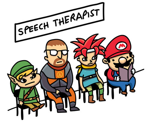 insanelygaming:  Speech Therapy