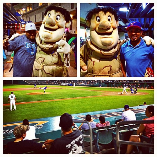 Watching a good ol' baseball game!! #GoPadres (Taken with Instagram at Kino Sports Complex)