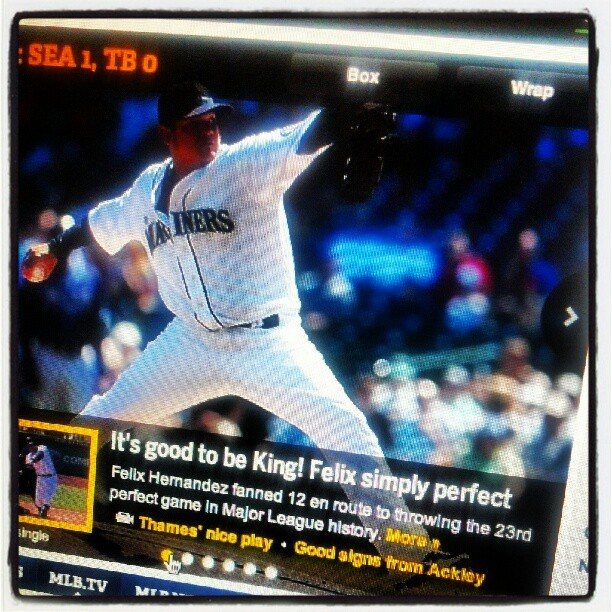King Felix the Perfect.  (Taken with Instagram)