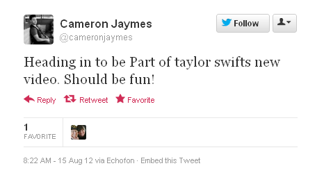 Taylor is filming her new music video in Los Angeles!