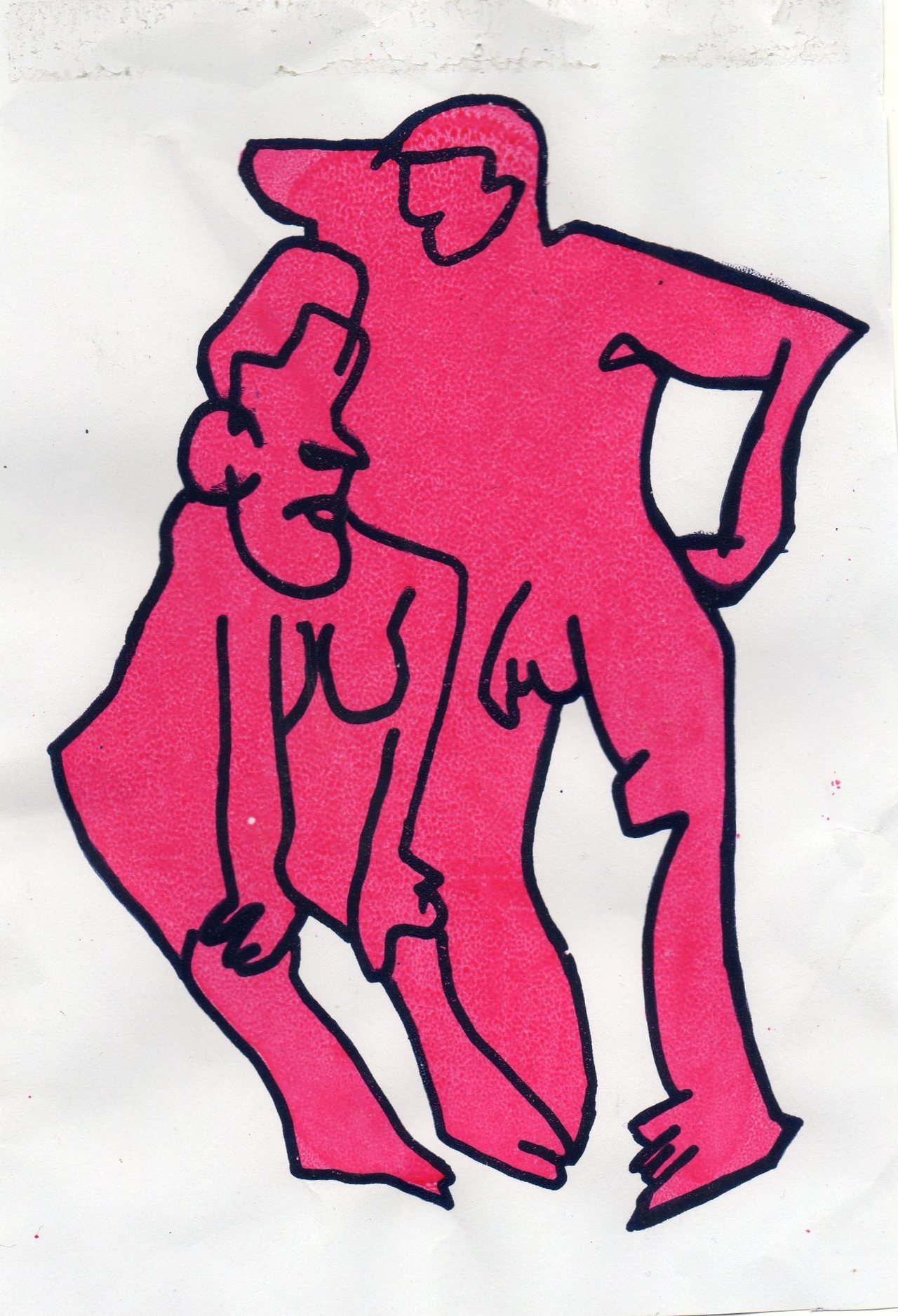 kanenugent:  Kane Nugent life drawing screen print 2.