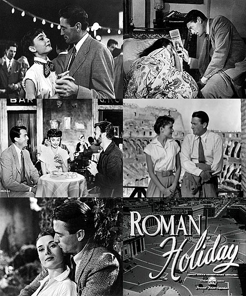 sherlocktapdances:   Roman Holiday (1953)