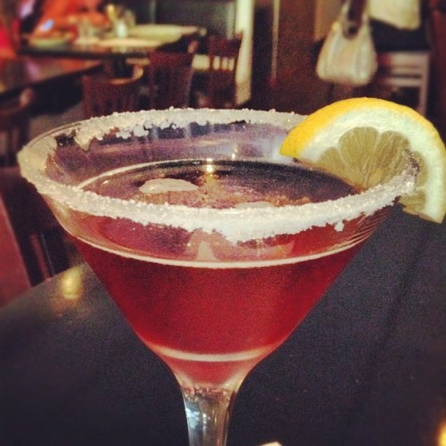 Winding down on a Wednesday. #martini (Taken with Instagram)