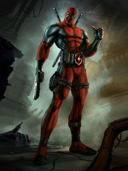 justinrampage:  Deadpool artwork and screens released The screenshots and concept artwork for the upcoming Deadpool video game being worked on by Activision and High Moon Studios looks awesome. You can check out more info / artwork at the main Gamefreaks website.    Via: gamefreaksnz