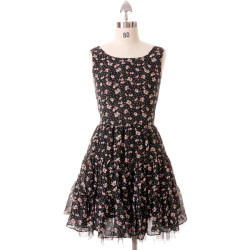 Dress   (see more black floral dresses)