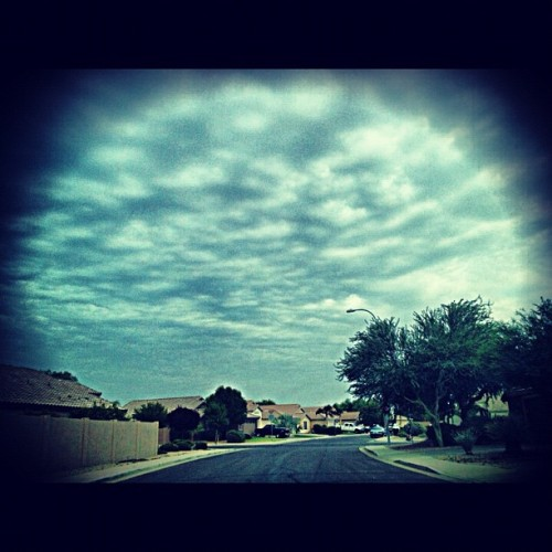 At least it's cloudy 😍 (Taken with Instagram)
