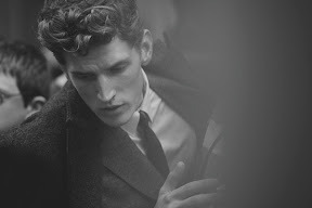 Peter Lindbergh shot J.Lindeberg's fall advertising campaign…'9