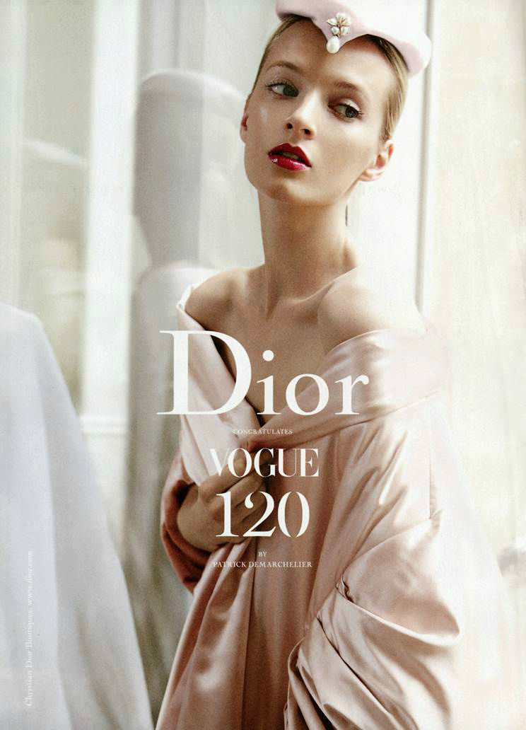 ohyeahfashionjunkie:  Dior Supplement for Vogue US September 2012 ♥