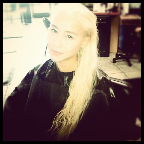 @shurie turned me into Malfoy from Harry Potter (Taken with Instagram at The Colour Bar)