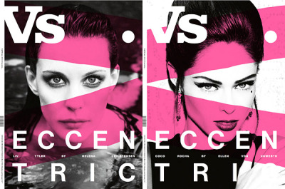 Vs. Magazine's Fall 2012 Covers … Liv Tyler (left) and Coco Rocha (right) Photographed by Drew Barrymore